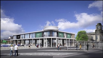 12,000 SF Retail Park Unit for Rent  |  Proposed Unit Rheidol Retail Park, Aberystwyth, SY23 1LL