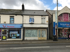 520 SF High Street Shop for Rent  |  218 High Street, Treorchy, CF42 6AS