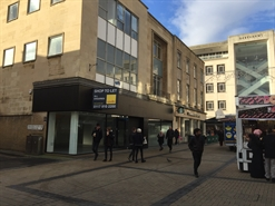 2,007 SF High Street Shop for Rent  |  51-53 Merchant Street, Bristol, BS1 3EE