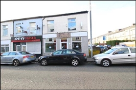 545 SF High Street Shop for Rent  |  20 Milkstone Road, Rochdale, OL11 1EB