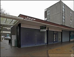922 SF High Street Shop for Rent  |  24 - 26 The Forum, Stevenage, SG1 1EH