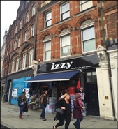 1,458 SF High Street Shop for Rent  |  158 Camden High Street, London, NW1 0NE