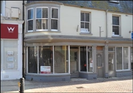 327 SF High Street Shop for Rent  |  6 Coburg Place, Weymouth, DT4 8HP