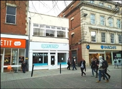 872 SF High Street Shop for Rent  |  20 Southgate Street, Gloucester, GL1 2DP