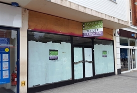1,804 SF High Street Shop for Rent  |  93 Above Bar, Southampton, SO14 7FG