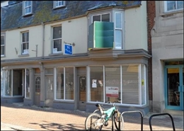 258 SF High Street Shop for Rent  |  7 Coburg Place, Weymouth, DT4 8HP