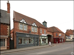 757 SF High Street Shop for Rent  |  Clocktower, Newark On Trent, NG24 1ES