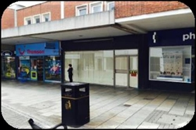 1,052 SF Shopping Centre Unit for Rent  |  33 Gold Street, Kettering, NN16 8JA