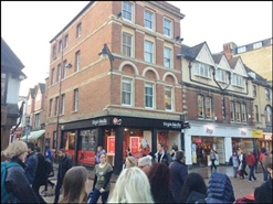 736 SF High Street Shop for Rent  |  37 Cornmarket Street, Oxford, OX1 3DJ