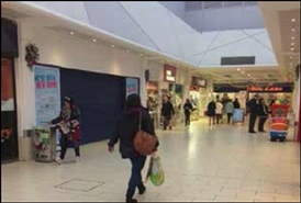 542 SF Shopping Centre Unit for Rent  |  Crystal Peaks Shopping Centre, Sheffield, S20 7PQ