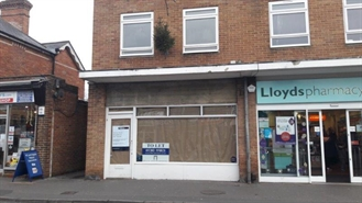 762 SF High Street Shop for Rent  |  192d Lower Blandford Road, Poole, BH18 8DP