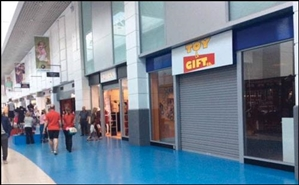 1,821 SF Shopping Centre Unit for Rent  |  Unit 3.9, Fishergate Centre, Preston, PR1 8HJ