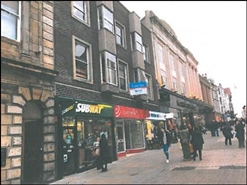 480 SF High Street Shop for Rent  |  12 Newborough, Scarborough, YO11 1NA