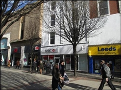 1,659 SF High Street Shop for Rent  |  19 - 21 Lister Gate, Nottingham, NG1 7DE