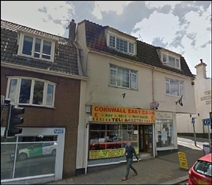 647 SF High Street Shop for Rent  |  79 Fore Street, Saltash, PL12 6AF