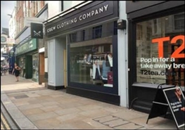 1,246 SF High Street Shop for Rent  |  50A George Street, Richmond, TW9 1HJ