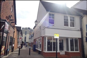 448 SF High Street Shop for Rent  |  2 Riverside Walk, Bishops Stortford, CM23 3AJ