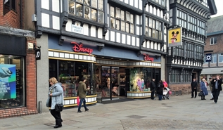 2,949 SF High Street Shop for Rent  |  11-13 Foregate Street, Chester, CH1 1HG