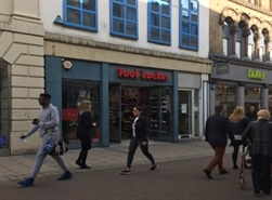 1,233 SF High Street Shop for Rent  |  15 Commercial Street, Leeds, LS1 6AL