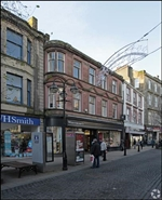 1,870 SF High Street Shop for Rent  |  119 - 121 High Street, Falkirk, FK1 1ED