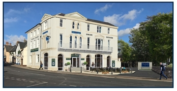2,650 SF Out of Town Shop for Rent  |  The Former Swan Hotel, Abergavenny, NP7 5ER