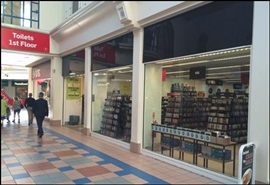 3,164 SF Shopping Centre Unit for Rent  |  UNIT 28 Octagon Shopping Centre, Burton Upon Trent, DE14 3TN