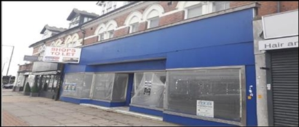 1,083 SF High Street Shop for Rent  |  618 - 620 Bearwood Road, Smethwick, B66 4BW
