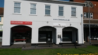 1,032 SF High Street Shop for Rent  |  15 Bargates, Christchurch, BH23 1QD