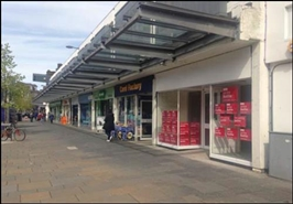 1,406 SF Shopping Centre Unit for Rent  |  Unit 29, Artizan Shopping Centre, Dumbarton, G82 1LL