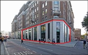 4,230 SF High Street Shop for Rent  |  Unit 3, London, WC1A 2SL