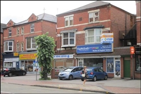 606 SF High Street Shop for Rent  |  37 Radcliffe Road, Nottingham, NG2 5FF