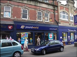 2,185 SF High Street Shop for Rent  |  6 Newgate Street, Bishop Auckland, DL14 7EG