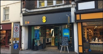 474 SF High Street Shop for Rent  |  17 Church Street, Kingston Upon Thames, KT1 1RW