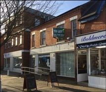 1,292 SF High Street Shop for Rent  |  72 - 74 Boldmere Road, Sutton Coldfield, B73 5TJ