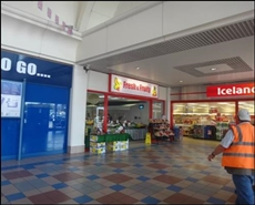 1,691 SF Shopping Centre Unit for Rent  |  Unit 33a, Burton Upon Trent, DE14 3TN