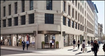 6,192 SF High Street Shop for Rent  |  Rex House, London, SW1Y 4PE