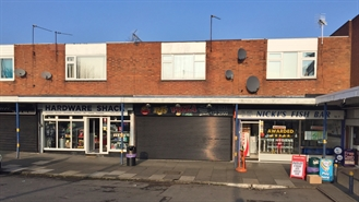 600 SF High Street Shop for Rent  |  7 Woodbury Road, Halesowen, B62 9RH