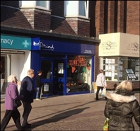 938 SF High Street Shop for Rent  |  10 - 12 Aughton Street, Ormskirk, L39 3BW