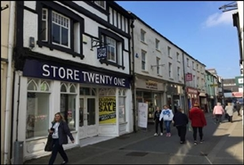 1,658 SF High Street Shop for Rent  |  26 Bridge Street, Haverfordwest, SA61 2AD