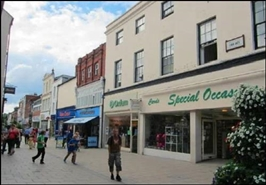845 SF High Street Shop for Rent  |  6 Eign Gate, Hereford, HR4 0AB