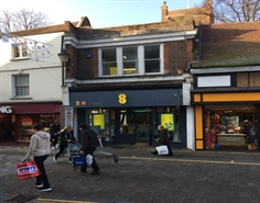 476 SF High Street Shop for Rent  |  17 Church Street, Kingston upon Thames, KT1 1RW