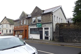 1,023 SF High Street Shop for Rent  |  3 High Street, Porth, CF39 8PG