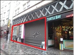 1,593 SF High Street Shop for Rent  |  7 Mathew Street, Liverpool, L2 6RE