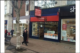 762 SF High Street Shop for Rent  |  Unit 1, St Michaels Buildings, Gloucester, GL1 1PD