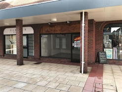 256 SF High Street Shop for Rent  |  Saxon Square, Christchurch, BH23 1QA