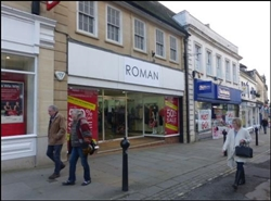 1,963 SF High Street Shop for Rent  |  13 - 14 High, Chippenham, SN15 3ER