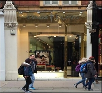 511 SF High Street Shop for Rent  |  8A Sloane Street, London, SW1X 9LE