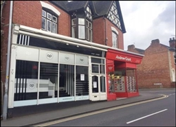 408 SF High Street Shop for Rent  |  5A New Road, Bromsgrove, B60 2HX