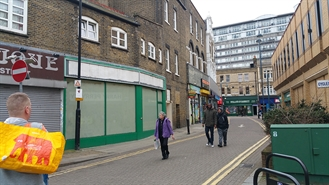 600 SF High Street Shop for Rent  |  Unit 7, 68-86 Powis Street, Woolwich, SE18 6LQ