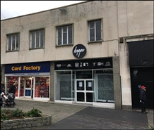 1,329 SF High Street Shop for Rent  |  31 Cornwall Street, Plymouth, PL1 1NW